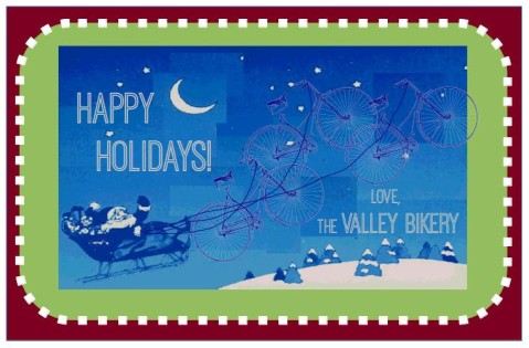Bikery holiday card
