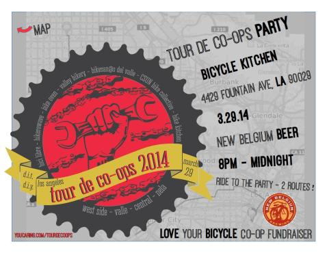 Tour de Co-ops PARTY flyer BK